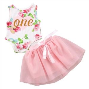 Other - Brand New 1st Birthday Outfit Size 12-18 Months